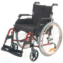 rolstoel-rood