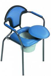 Toiletstoel blauw