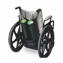 Zuurstoftas rolstoel, dubbel